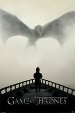 Game of Thrones - A Lion & A Dragon - TV Serie Poster Druck - Größe 61x91,5 cm