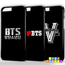 BTS Phone Case Cover Korea Army Band for iPhone Samsung Hard/Rubber