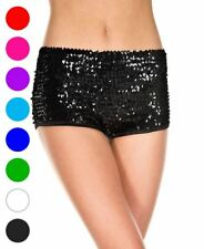Sequin Booty Shorts - Music Legs 145