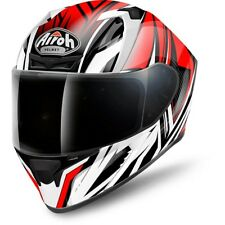 AIROH VALOR VACQ55 CASCO INTEGRALE CONQUER RED GLOSS VARIE TAGLIE