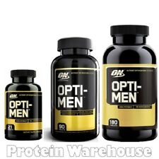 Optimum Nutrition Opti-Men Optimen On Multi Vitamin Gold Vitamins 21 90 180 Cap