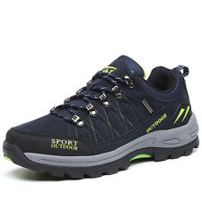 Mens Big Size Hiking Shoes Athletic Sneakers Trail Running Sports Outdoor Shoes
