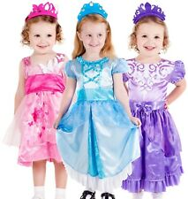 Toddler Baby Girls Princess Nursery Dress Up Book Day Fancy Dress Costume Outfit