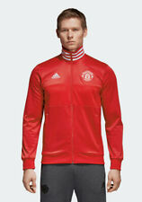 Manchester United Adidas Giacca sportiva sport Jacket 2018 Track Top 3 Stripes