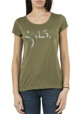 tee shirt top SALSA JEANS 119616 germany vert Ref: ind