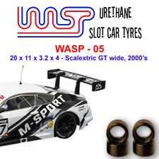 WASP 05- Urethane Slot Car Tyres - Scalextric GT, LMP & touring wide
