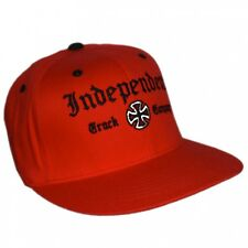 Casquette baseball flexfit INDEPENDENT Truck Co rouge Collector !!!