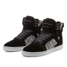 Sneakers Homme Shoes SUPRA SKYTOP LX BLACK/PRINT-WHITE