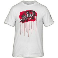 T-Shirt ECKO UNLTD The Exhibit Save Suiko Bleach White Limited edition