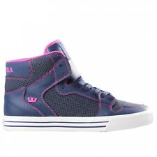 Sneakers Homme Shoes SUPRA VAIDER NAVY / MAGENTA - WHITE