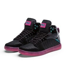 Sneakers Homme Shoes SUPRA S1W CHARCOAL MAGENTA