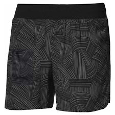Shorts Asics FuzeX 5,5In Print Negro-Gris Mujer