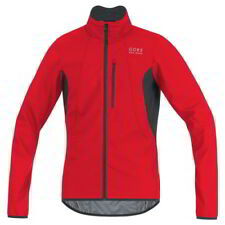Chaqueta Gore Bike Wear E Windstopper Rojo-Negro