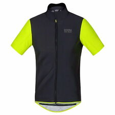 Maillot Gore Bike Wear Power Windstopper SO Negro-Neon