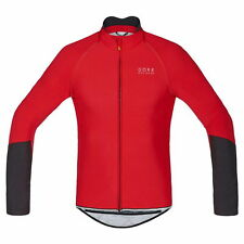 Maillot Gore Bike Wear Power Windstopper ZO Rojo-Negro