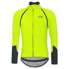 Maillot Gore Bike Wear Power Windstopper SO ZO Amarillo Neon-Negro