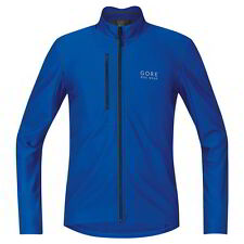 Maillot Gore Bike Wear E Thermo Manga Larga Azul Brillo