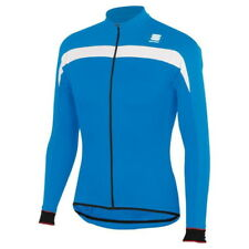 Maillot Sportful Pista Thermal M/L Azul-Blanco