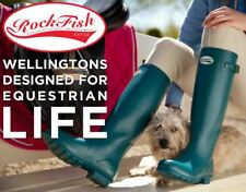 ROCKFISH Original Ladies Wellingtons Wellies - Mixed Colours and Sizes