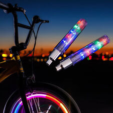 4 PCS 5 LED Flash Light Bicycle Motorcycle Car Bike Tyre Tire Wheel Valve Lamps