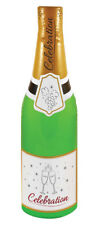 Inflatable Green Celebration Bottle Champagne Blow up Party Decoration Accessory