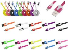 CABLE CARGADOR SINCRONIZAR MICRO USB 1M SAMSUNG 10 COLOR NOKIA LG HTC SONY
