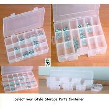 Portable Parts Storage Container Case Tool Mechanic Organize Select Your Size
