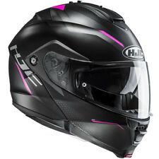 HJC IS-MAX II Dova rose Moto Femmes Casque modulable toutes tailles