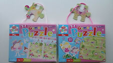 """2 in 1 Game & Puzzle """"Fairy Spot the Difference"""" or  """"Fairy Ropes & Ladders"""""""
