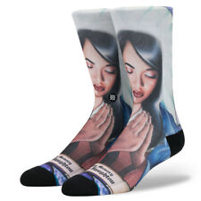 "Stance ""Praise Aaliyah"" Crew Socks (Multi) Men's Hip Hop Legend Sock"