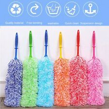 Multipurpose Feather Duster Dust Wiper Bendable Fiber Household Cleaning Tool KU