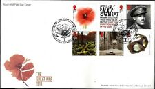 GB FDC 2018 UNADDRESSED COUNTRY DEFINITIVE WOMEN THRONES STAMPS MINISHEET