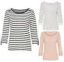 PULLOVER DONNA MAGLIA onljess 3/4 Famous PUNTI TOP POIS RIGHE ROSA BIANCO
