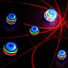 Flashing LED Spinning Top Peg-top with Music and Laser Light,1 2 3 6 12 PACK