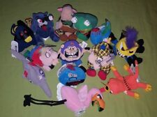 Meanies Silly Slammers Plush Toy Lot of 13 Halloween Gross Weird