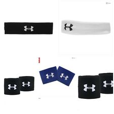 Under Armour Tannins gums Performance Headband,wristbands,Black, white,One Size