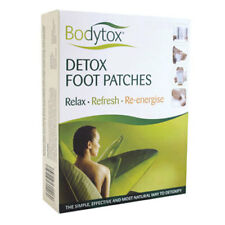 UK Brand Bodytox Detox Foot Patches Body Toxins Detoxification Cleanse Pad Feet