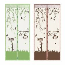 Magnetic Mesh Screen Door Fly Bug Insect Mosquito Net Curtain ED