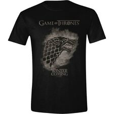 T-shirt Game of Thrones Stark Spray Winter is coming maglia Uomo ufficiale