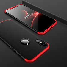 3 in 1 Luxury Matte Hybrid Front & Back Case Cover For APPLE IPHONE X 10 (TEN)