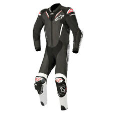 Alpinestars Atem V3 Black / White Motorcycle One Piece Leather Suit | All Sizes