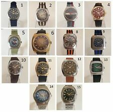 Orologio Watch SEIKO - CARAVELLE - AVIA - ELGIN - LANCO - SANDOZ - CITIZEN +++