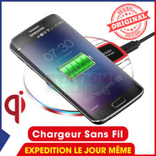 CHARGEUR SANS FIL QI INDUCTION SAMSUNG GALAXY S8, S8+ / S7, S7 EDGE/ S6, S6 EDGE