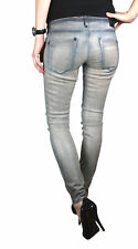 Drykorn Ladies Jeans Trousers Skinny Model in Coated Stretch W25-31 NEW