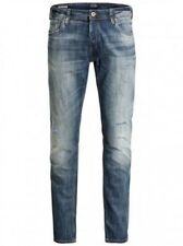 JACK & JONES JEANS UOMO JJIGLENN JJORIGINAL taggati 988 - slim fit - Blu