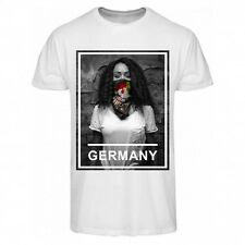 zoonamo T-Shirt Germania Urban Collection NUOVO BIANCO 100% cotone