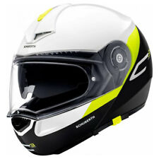 Schuberth C3 Pro GRAVITY AMARILLO para Motocicleta Casco Panel Frontal
