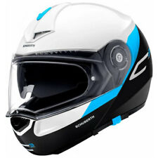 Schuberth C3 Pro Gravity Azul Motocicleta Casco Panel Frontal