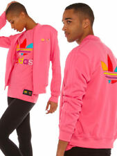 adidas Originals Pink Supercolour Pharrell Williams Track Top Jacket Unisex XS