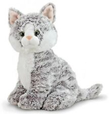 Greycie Tabby - Cat & Kitten Stuffed Animal by Melissa & Doug (7525)